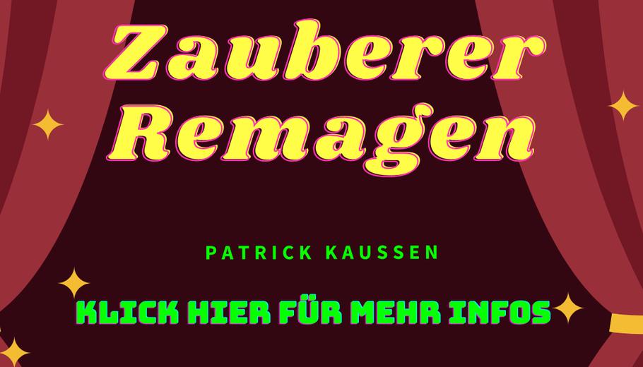 Zauberkunst Patrick Kaußen Remagen Idee Feier Betriebsfeier Firmenfeier Event
