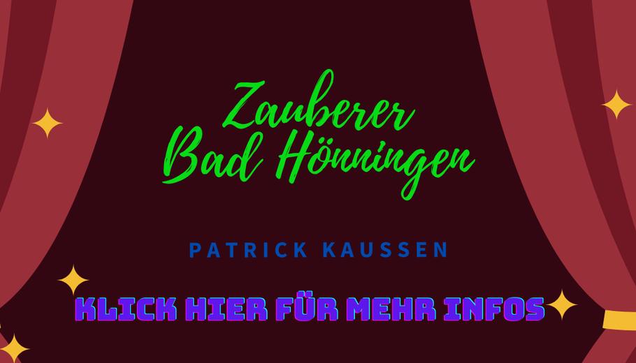 Zauberer-Bad Hönningen-Patrick-Kaussen