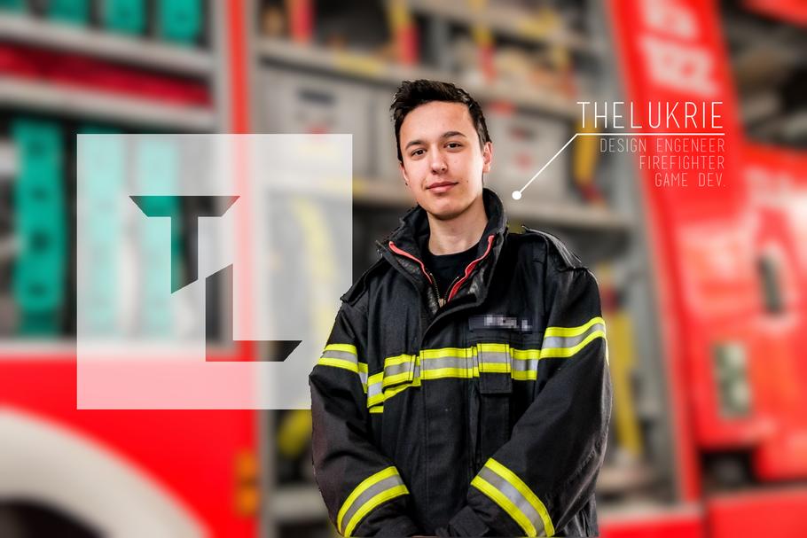TheLukrie, Firefighter, Lukas Riedl