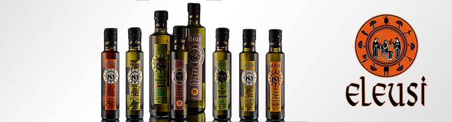 Olivenöl Kalabrien Eleusi Olivenöl Eleusi Olio Eleusi Öl Oliveöl Calabria Kalabrien BIO D.O.P. Manufaktur Sybari Aromaöl Mandarine Limone Zitrone Peperoni Paprika Natives Olivenöl