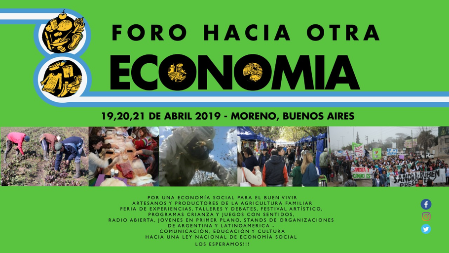Se realizará en 2019 los días 19, 20 y 21 de abril en Argentina, Moreno, Cuartel v.en la Asociación Civil Culebrón Timbal