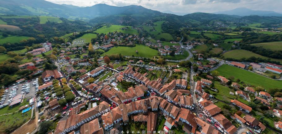 Visite virtuelle f te du piment site officiel de l 39 office de tourisme d 39 espelette pays basque - Office du tourisme d espelette ...