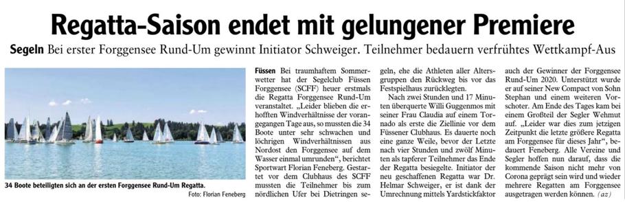 Allgäuer Zeitung vom 14.08.2020