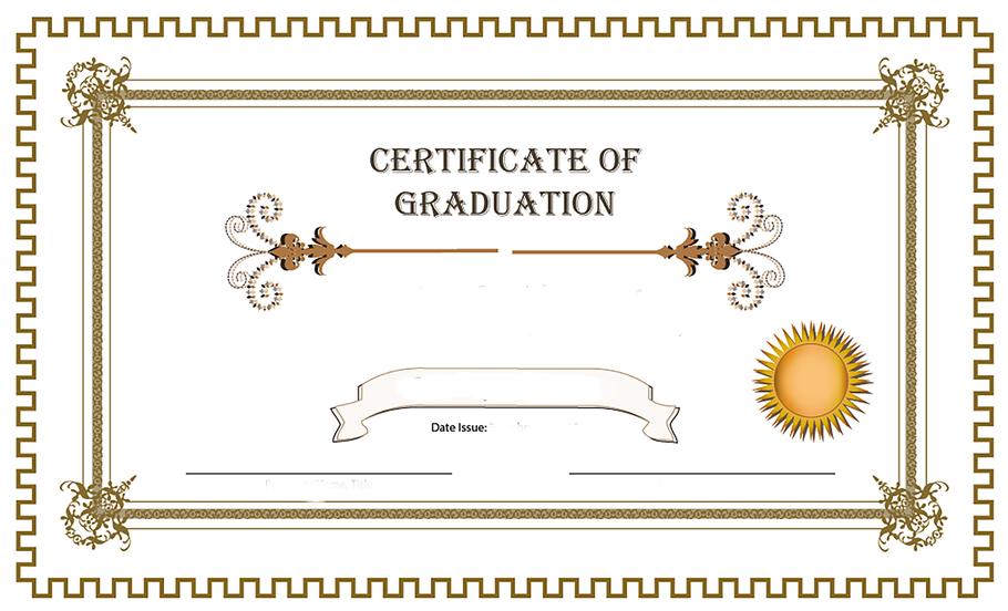 Esta imagen no se corresponde con el diploma que se entregará a los asistentes