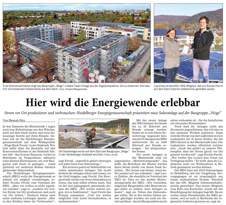 Rhein-Neckar-Zeitung, 26.11.2019