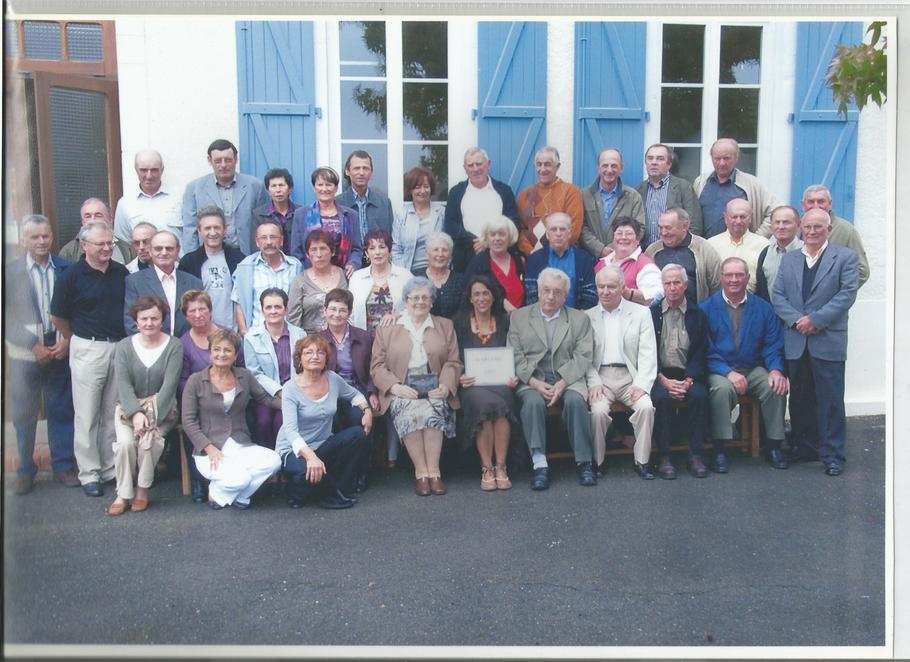 Retrouvaille des anciens de l'école primaire 1948/1959