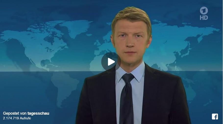 ARD 19.04.2015 - Das Mittelmeer ein Massengrab für Flüchtlinge - ein Tagesthemen- Kommentar von Markus Preiß (WDR).