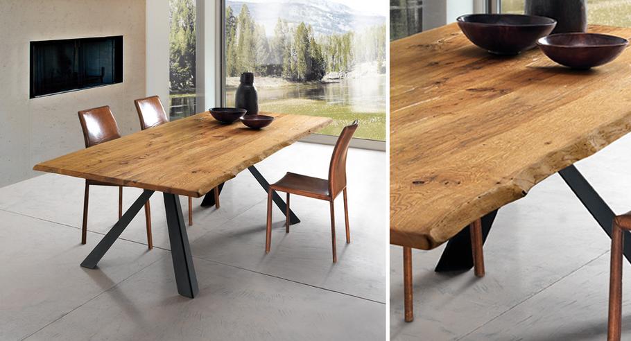 Holztisch, wilder Tisch, Oliver B, Italien, direkt bestellen