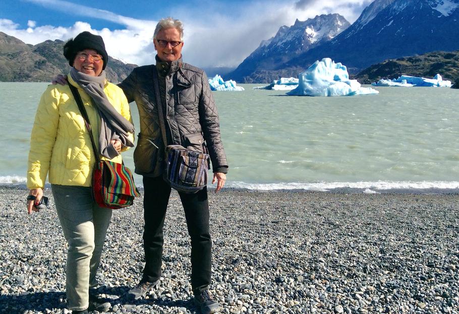 myMXbag reist mit Dir ans Ende der Welt 😍 Herzlichen Dank and Erika und Helmut Zabeck für das tolle Foto aus dem Nationalpark Torres del Paine im Süden von Chile!