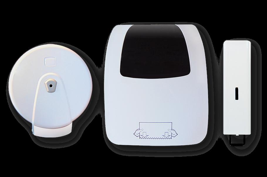 Waschraumspender hygienespender.shop Handtuchspender Seifenspender Toilettenpapierspender Papierspender
