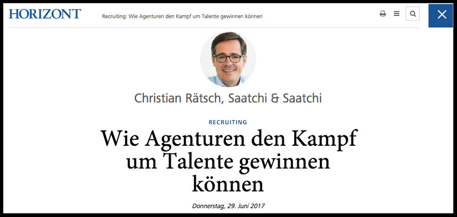 Screenshot HORIZONT, Quelle: http://www.horizont.net/agenturen/kommentare/Recruiting-Wie-Agenturen-den-Kampf-um-Talente-gewinnen-koennen-159203