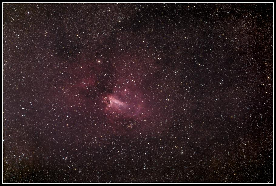 Messier 17 • Omeganebel • NGC 6618 •  OCISM 9 • W 38  - MeixnerObservatorium