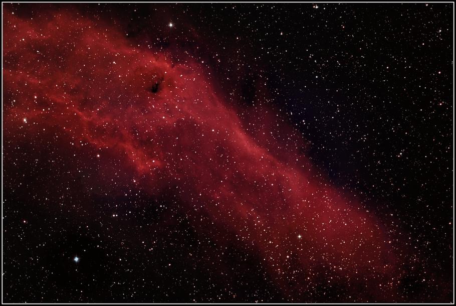 NGC 1499 - Kalifornien-Nebel - California-Nebula - MeixnerObservatorium