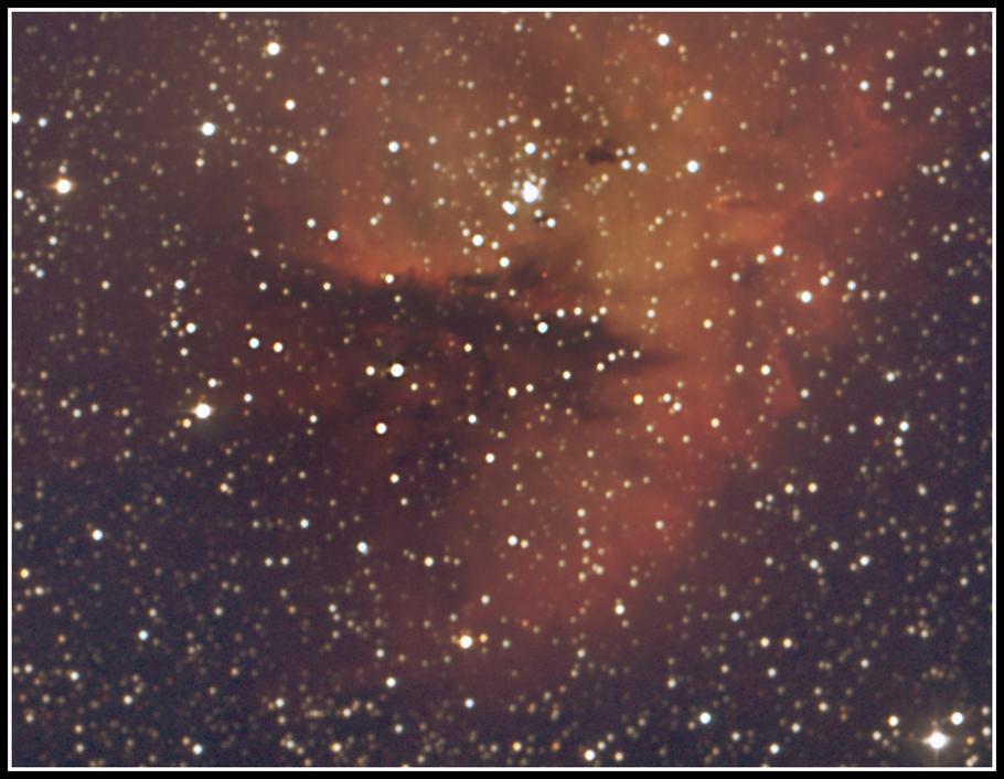 NGC 281 - Detail H2O maser   -  MeixnerObservatorium
