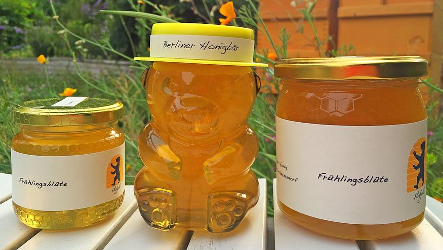 Honigglas, Fließgold