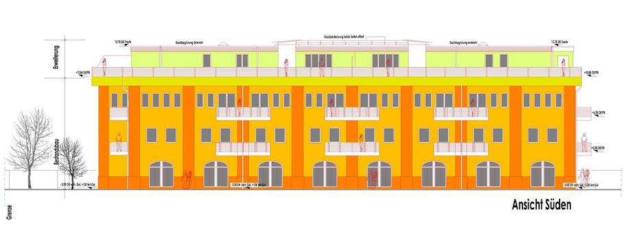 Umbau einer Fabrik zur Wohnanlage mit 34 WE in Lahr/ Schwarzwald / Vasteco Bau GmbH