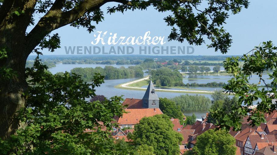 Hitzacker Weinberg Wendland Altstadt Kirche Elbe Frühsommer