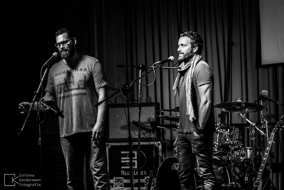 Rob Benedict and Louden Swain