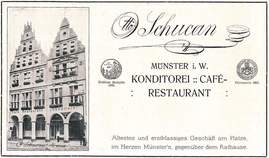 Das traditionsreiche Cafe Schucan