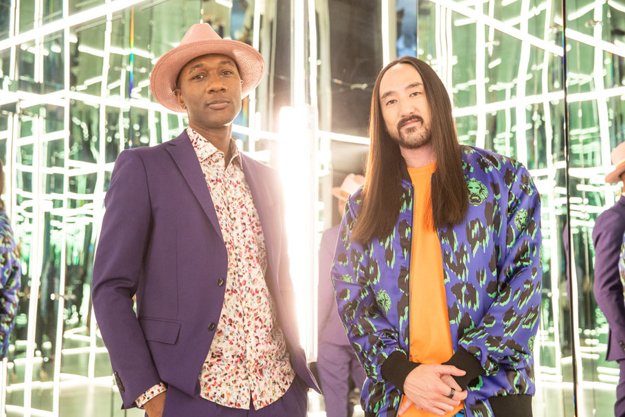 Aloe Blacc and Steve Aoki