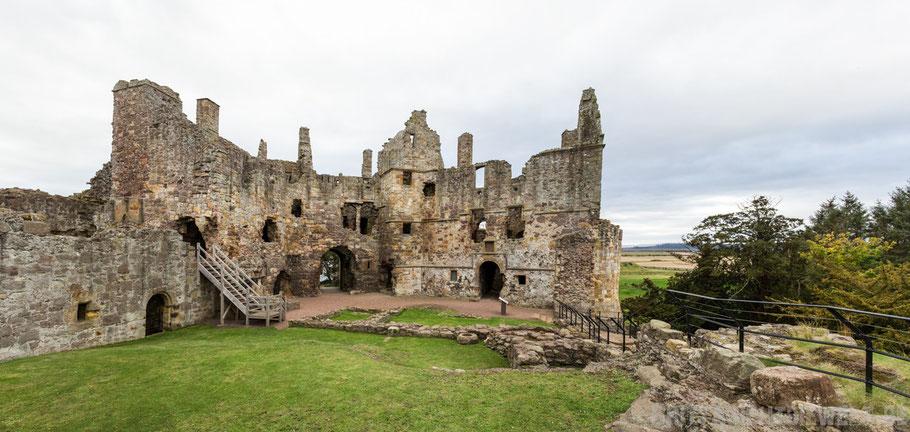 Dirleton,Castle,Küste,Schottland,Tipps