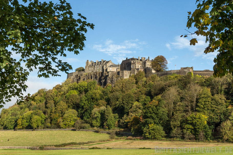 Stirling,castle,Ansicht,Herbst,Oktober,Schottland,Tipps
