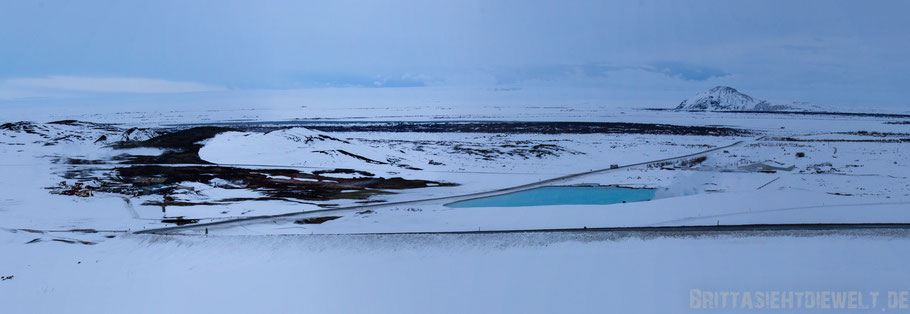 Iceland,Myvatn,sea,north,white,blue,sky,cloud,snowscape,winter,february,tipps,panorama