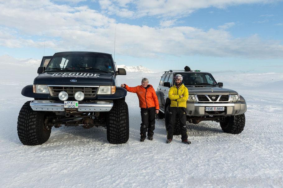 Eishöhlentour,extreme,Iceland,Superjeep,Gletscher,Vatnajökull,Island,Winter,Februar,Schnee.