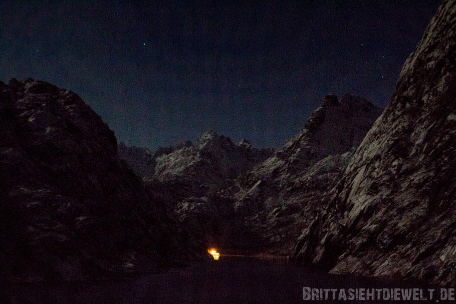Trollfjord,Nordlicht,Polarlicht,Hurtigruten,MS,Midnatsol,Winter,November,grün,pink,Tipps