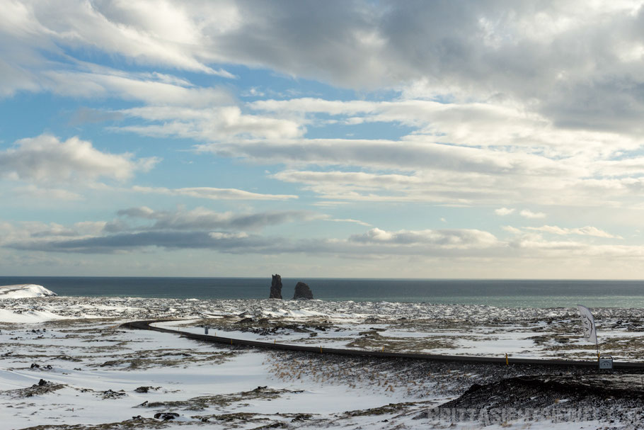 snaefellsnes,island,iceland,winter,february,west,car,snow,tipps,ocean,west,lava,tube