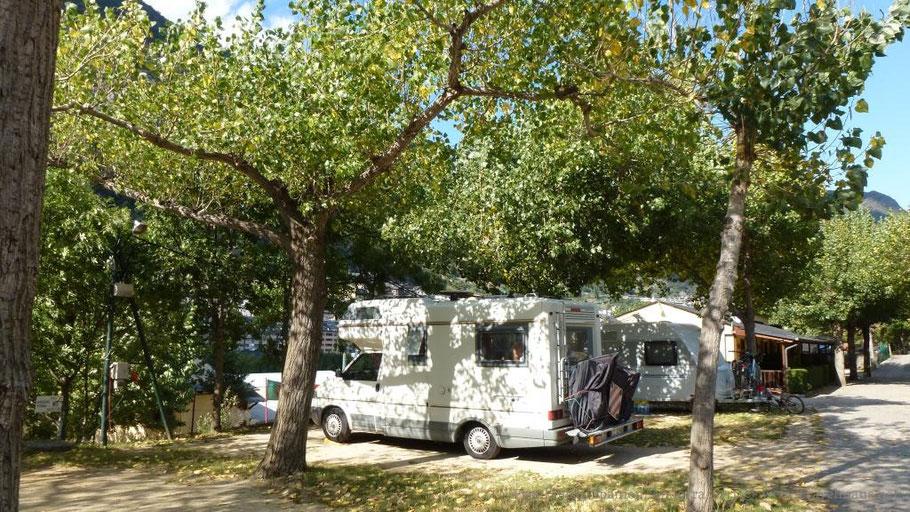 Campingplatz Andorra (Valira)