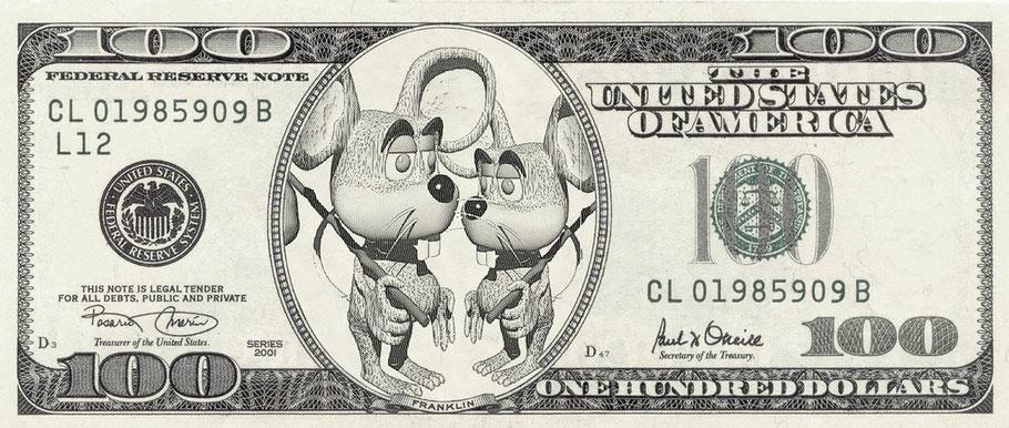 ... die neuen Dollarscheine [erstellt mit: http://de.photofunia.com/lab]