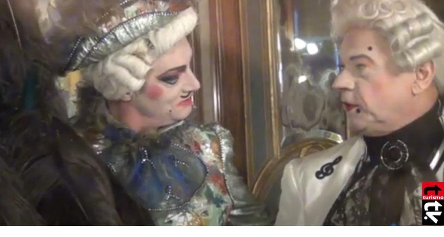Turismo Tv, televisión turística en venecia en carnaval