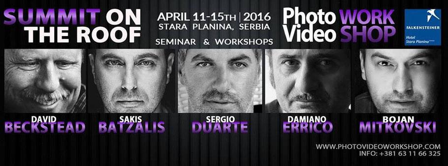 Sergio Duarte Servia Workshop 2016