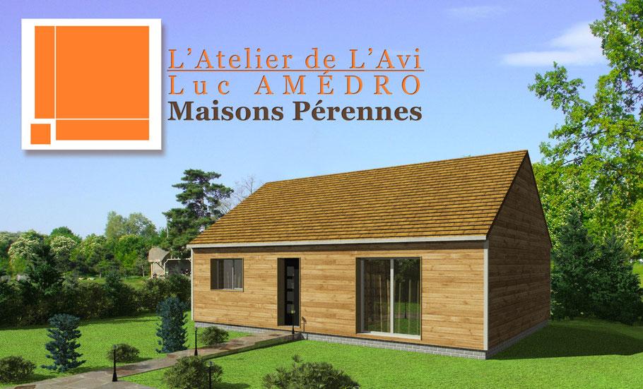 toute la 3D réaliste pour un fabricant de maison en bois