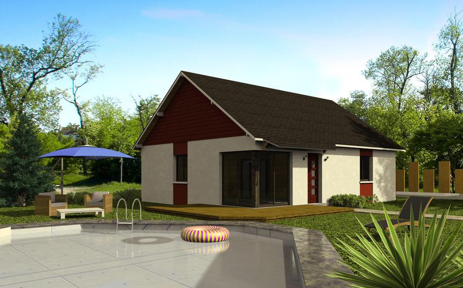 Imagerie de'architecture en 3D, promotion immobilière