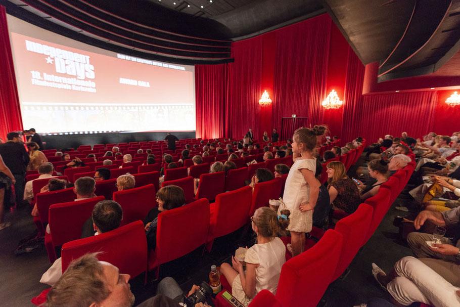 Die Bedeutung von Filmfestivals für Kinos wie hier die Independent Days in der Schauburg ist groß (Foto: fugefoto).