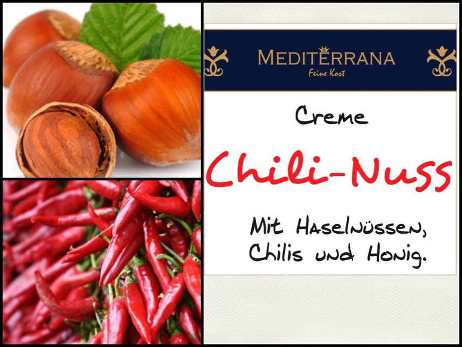 Haselnuss-Chili Dip by Mediterrana Feinkost Hamburg