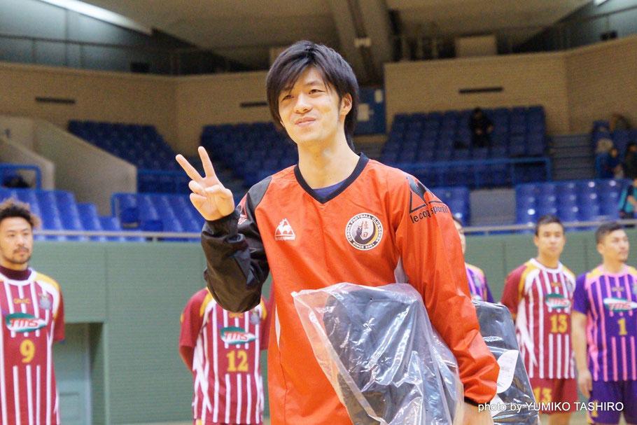 コロナフットボールクラブ権田14番・山村朋也選手