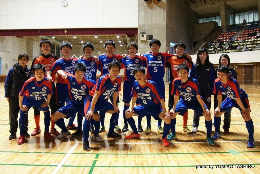 普段は千葉県1部リーグ「順天堂大学GAZIL / jfc」でプレーしている西本選手。