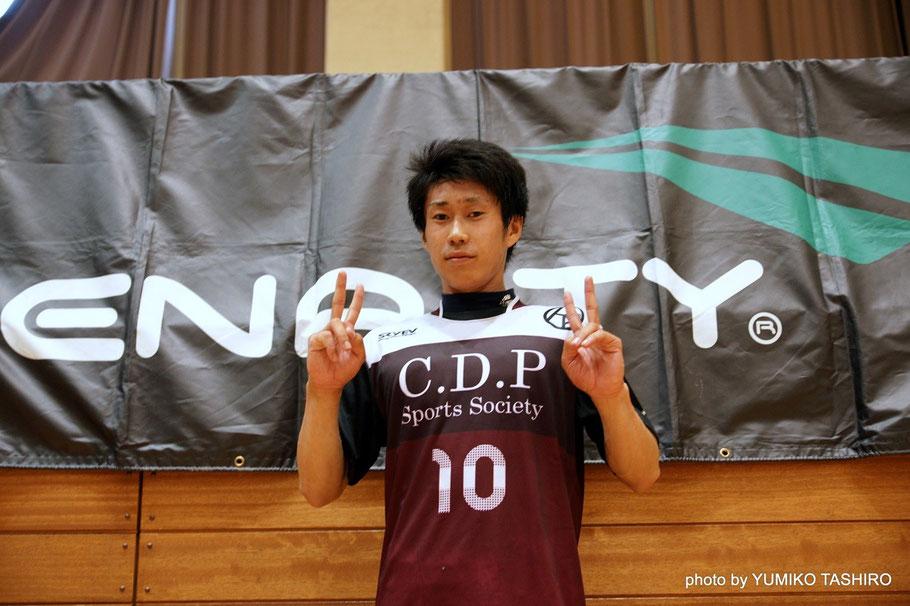 O-PA 10番・奥橋伸也選手