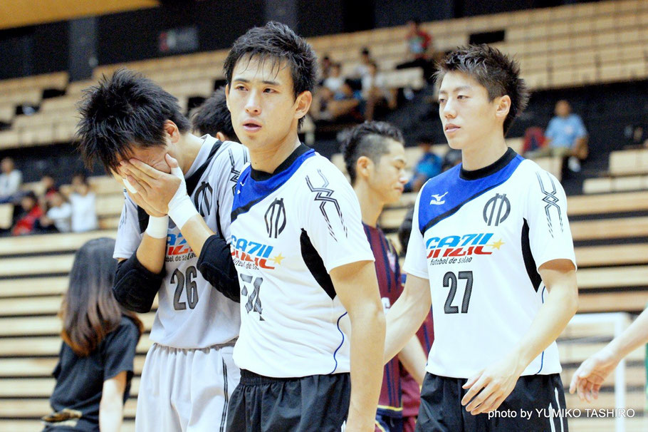 2015年8月に開催された全日本大学フットサル大会。予選ラウンドでは優勝した同志社大を下すも、準決勝で対戦した広島大にPK戦の末敗れた。