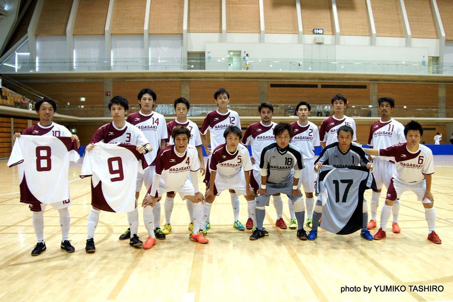 GiNGA・エスタジ佐世保などの県リーグの選手のみで九州大会を勝ち抜き全国大会へ駒を進めてきた長崎県選抜