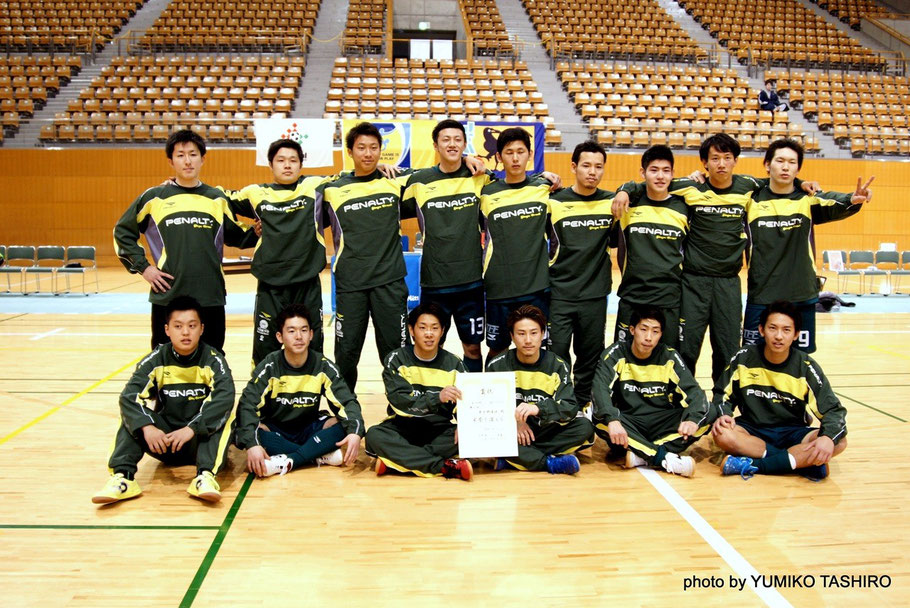 2015年3月に行われた長野オープンU23大会。、東京都U23選抜は準優勝で大会を終えた。