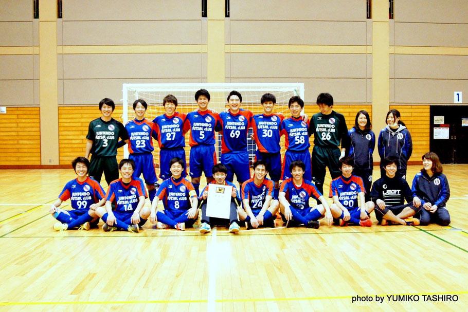 千葉県第二代表として選手権関東大会へ出場する順天堂大学GAZIL / jfc  このメンバーで戦える最後の大会を思い切り楽しんでもらいたい。