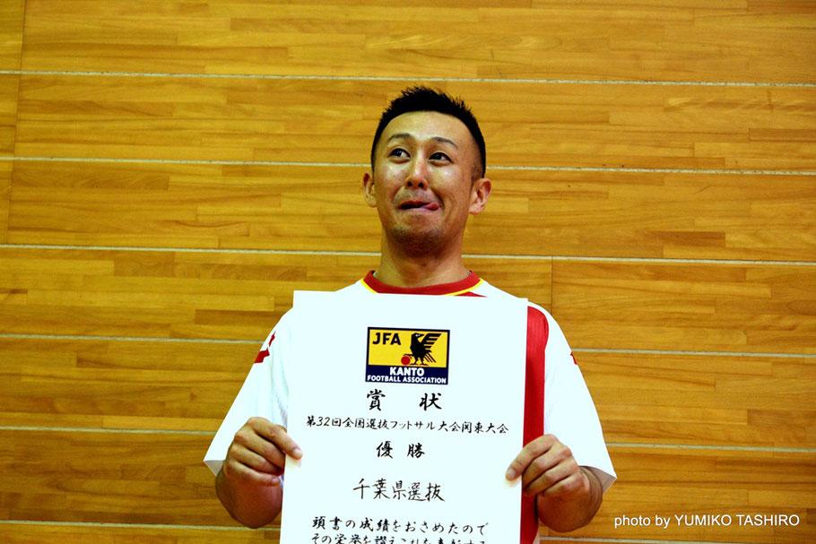 千葉県選抜7番・馬場和也選手 関東1部「柏トーア'82」所属