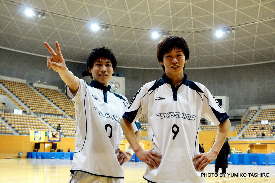 福島県U23選抜 キャプテン 9番・滝田貴秀選手