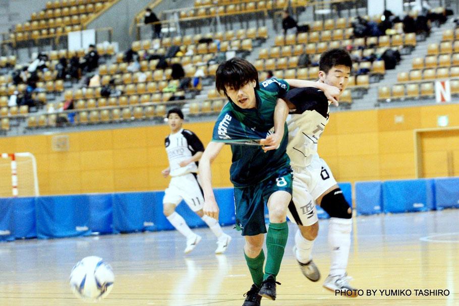 強豪東京都U23選抜との対戦は3対3という結果に。勝利することは叶わなかったが手応えを感じているようだ。