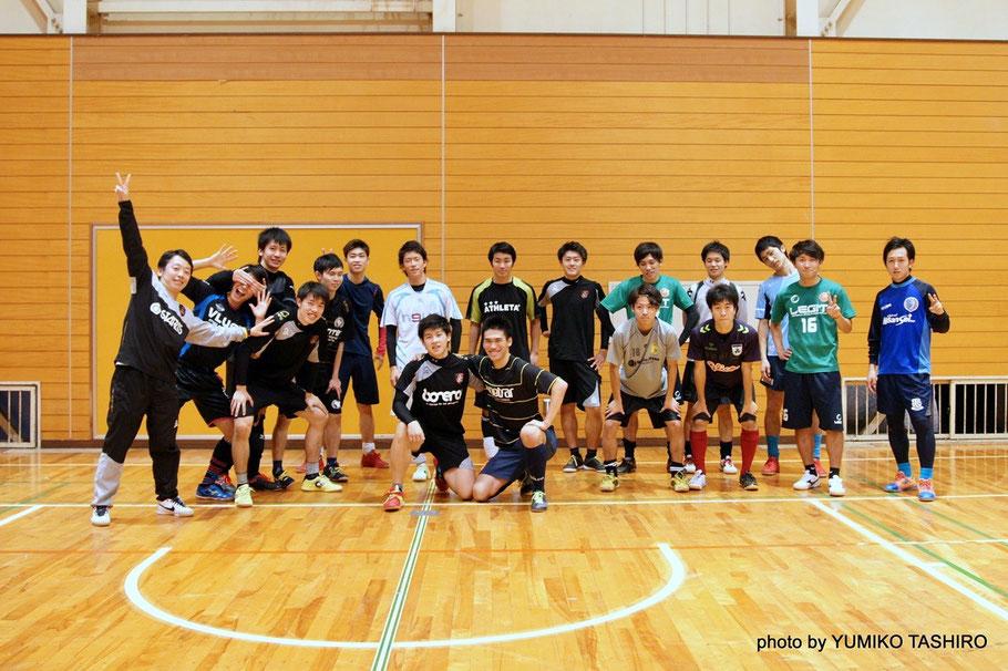 2015年11月21日の千葉県U23選抜練習会