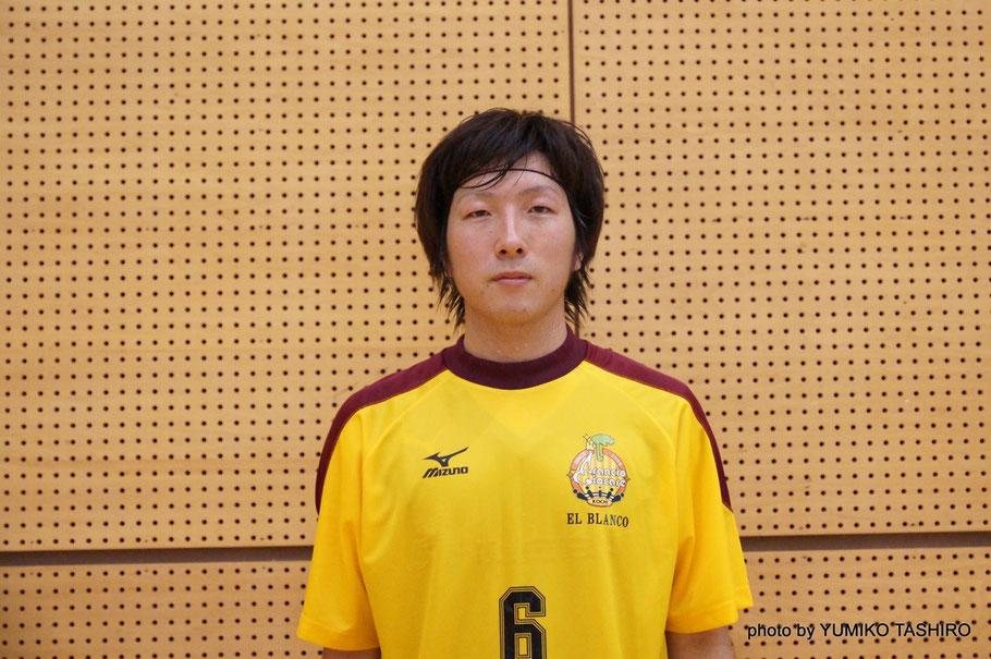 Arancio Giocare ELBLANCO 6番・末延聖平選手